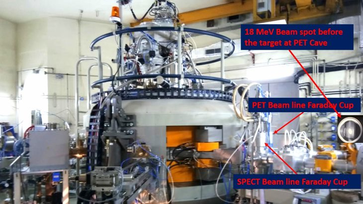 Indian cyclotron begins radioisotope operations