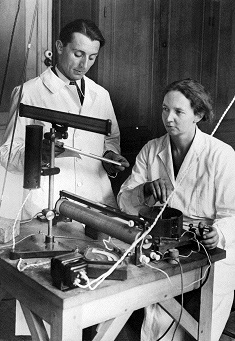 frederic joliot e irene curie