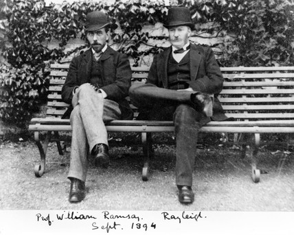William Ramsay y Lord Rayleigh